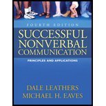 Successful Nonverbal Communication, Eaves, Michael H. and Leathers (Late), Dale, 0205333095