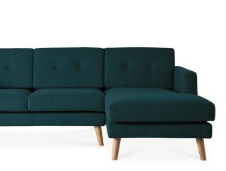 Delicieux Swoon Editions Howard Righthand Corner Sofa In Marine Corner Sofa Mid