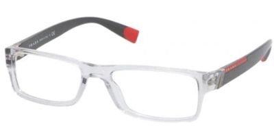 98fdf35e6e Prada Eyeglasses VPS 03C GREY AAA-1O1 VPS03C 54 (B0055CLXQS ...
