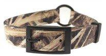 Scott - Adjustable Camouflage Rib Nylon Dog Collar Size: 1