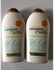 OGX Quenching Plus Coconut Curls Bundle Shampoo & Conditioner 19.5 Ounce each