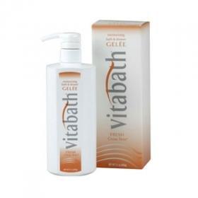 Vitabath Fresh Citrus Twist Moisturizing Bath & Shower Gelee-21 oz. For Sale
