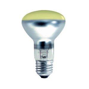 Edison Screw Coloured Yellow R64 Crompton 40W ES E27 Incandescent Spotreflektor