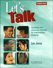 Let's Talk, Leo Jones, 0521467535