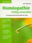 Homöopathie richtig anwenden