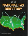 The National Fax Directory, 1998, , 0787611220
