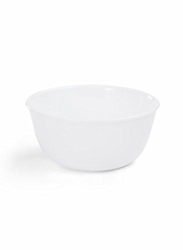 Corelle Winter Frost White Glass Curry Bowl, 828ml/16cm, Multicolour