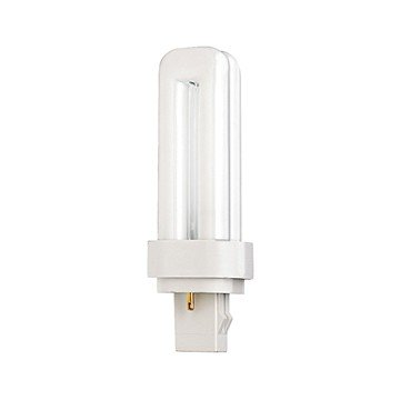 (Pack of 10) Satco S8320, 4100K 13-Watt GX23-2 Base T4 Quad 2-Pin Tube for Magnetic Ballasts, Compact Fluorescent - 13w 2 Base T4 Gx23
