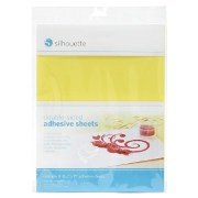 Silhouette Double-Sided Adhesive for use with Glitter etc - 8 sheets Silhouette America SCDAU400