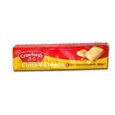 - McVities-Crawfords Custard Creams 150g