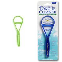 Tongue Cleaner - Neon Green Plastic
