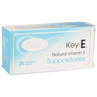 Carlson Labs Key-E suppositoires avec Vitamine E naturelle, 24 comte