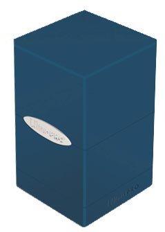 (Ultra Pro Satin Tower Blue Deck Box)