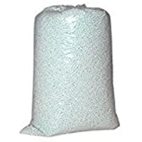 Mr. Lazy Bean Bag Refill, 1 Kilogram (White)