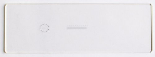 OMAX 0.1mm & 0.01mm Microscope Calibration Slide