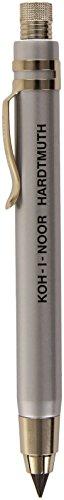 Koh-i-noor Silver All Metal Lead Holder with Sharpener 5359