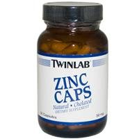 (Twinlab Zinc Caps -- 50 mg - 90 Capsules)