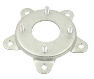 EMPI 9503 VW 4 Lug Wheel To 5 Lug VW Wheel Adapters, Steel, Volkswagen Bug, Baja, Ghia, Bus (Baja Volkswagen Bug)