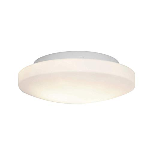 Flush Mounts 1 Light Fixtures with White Finish Metal Material Module Type 4