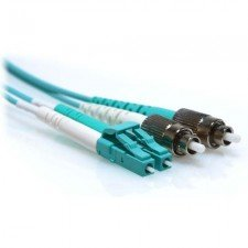 2m SC/ST 40/100GB Duplex 50/125 Multimode OM4 Fibe...