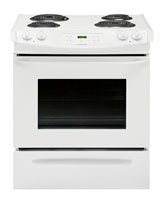 Frigidaire FFES3015PW30 White Electric Slide