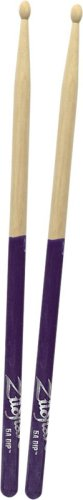 Zildjian 5a Purple Dip - Zildjian 5A Wood Purple Dip Drumsticks