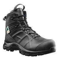 Haix Black Eagle Safety 55 Mid Side-Zip Boot - Black, Size: 11 Wide