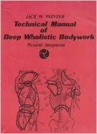 Book Technical Manual of Deep Wholistic Bodywork: Postural Integration by Jack W. Painter (1987-06-03)