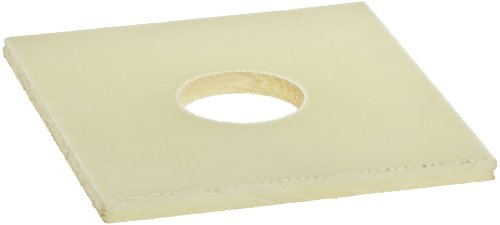 """Fiberglass Flat Washer, #8 Hole Size, 0.390"""" ID, 2"""" OD, 0.12"""