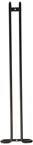 Rev-A-Shelf - 3150-18ORB - 18 in. Oil Rubbed Bronze Under Cabinet Wine Glass Holder
