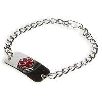 """Amazon.com: Medical Emergency Necklace - """"Diabetic"""" By"""