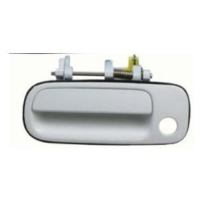 Motorking 6922033011C1 92-96 Toyota Camry White 040 Replacement Driver Side Outside Door Handle 92 93 94 95 (95 96 Toyota Camry Door)