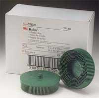 3M 07526 Roloc Bristle Disc, Green