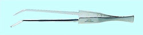 KFIピンセット 精密用 K-19 250㎜ ステンレス B07BNB2M48