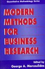 Modern Methods for Business Research, , 0805826777