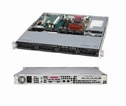 Super Micro Supermicro CSE-813MTQ-350CB SuperChassis 813MTQ-350CB 1U Rackmount Enclosure, 350W Power Supply