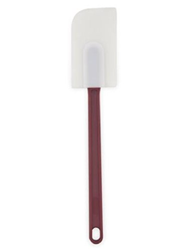 white rubber spatula - 9