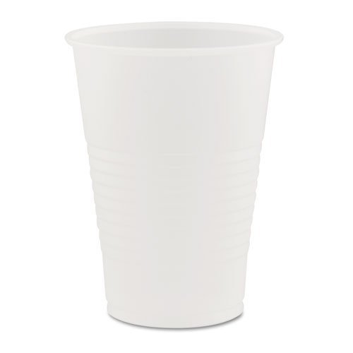 Dart Y7 Conex Galaxy Polystyrene Plastic Cold Cups, 7 oz, 100 Per Sleeve (Case of 25 Sleeves)