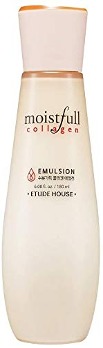ETUDE HOUSE MOISTFULL COLLAGEN EMULSION (old) | The Small Particles of the Super Collagen Water makes Skin full of Moisture and Vitality | Korean Skin Care