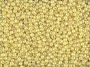Seed Beads 11/0 Czech Satin Pearl Custard (one hank ()