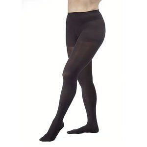 Women's Ultrasheer 30-40 mmHg Extra Firm Support Pantyhose Size: Medium, Color: Classic Black