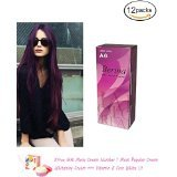 12 X Hair Professional Violet Color Berina Hair Dye Color Cream A6 by Berina