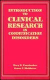 Introduction to Clinical Research in Communication Disorders (Singular Textbook Series)