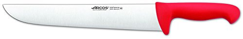 Arcos 12-Inch 300 mm 2900 Range Butcher Knife, Red