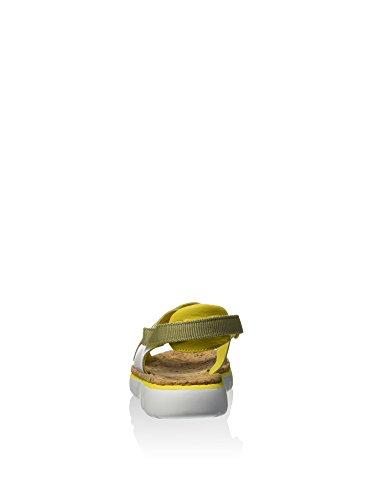 Camper Oruga K200157-005 Sandalias Mujer Amarillo / Blanco