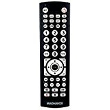 vcr remote - Magnavox 8-in-1 Universal Remote For TVs (TV), Digital TVs (DTV), DVD players (DVD), VCR players (VCR), set top boxes (STB), satellite receivers (SAT), AUX, and More Model MC348