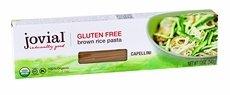 Jovial Organic Brown Rice Capellini Pasta, 12 Ounce - 12 per case.