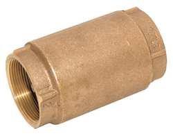 Industrial Grade 6AJY6 Check Valve, 2 In, Threaded, Bronze ()