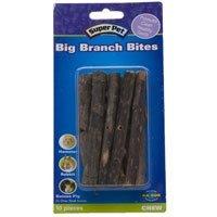 Superpet (Pets International) SSR61198 10-Pack Ka-Bob Small Animal Fruitwood Big Branch Bites Sticks ()