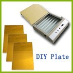 DIY Hot Foil Stamping Plate Making Kit (Uv Exposure & A4 Photopolymerplate)